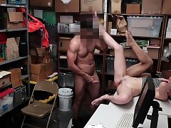 Shoplyfter- Teenager Thieves Suck Cock and Get Humped