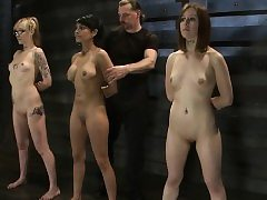 Fetish Puffies Clamped Audition