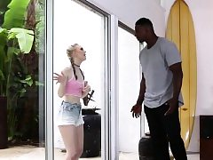 Enormous Penis Black Dude Pounding Lily Rader
