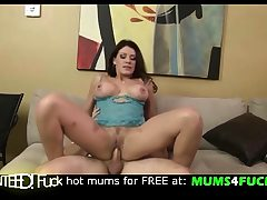Son thank you for cum in my mouth!