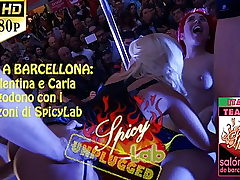 public soiree orgy sex during festival of Barcelona