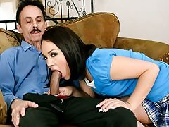 Kristina Rose Boinking Her Step-dad