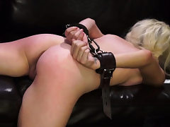 Legs behind head bdsm Helpless nubile Piper Perri was on
